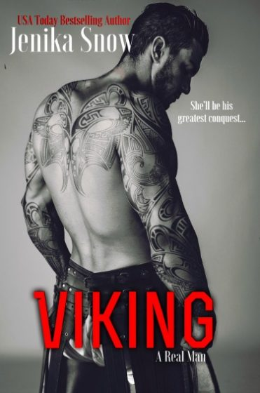 Release Day Blitz: Viking (A Real Man #9) by Jenika Snow