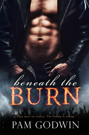 Cover Re-Reveal: Beneath the Burn by Pam Godwin