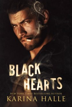 Cover Reveal: Black Hearts (Sins Duet #1) by Karina Halle