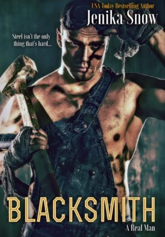 Cover Reveal: Blacksmith (A Real Man #10) by Jenika Snow