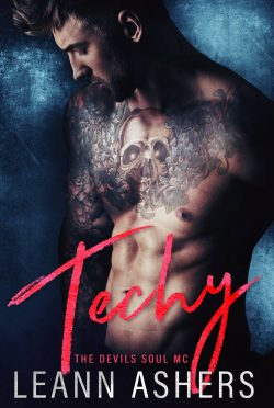 Cover Reveal: Techy (Devils Souls MC #2) by LeAnn Ashers