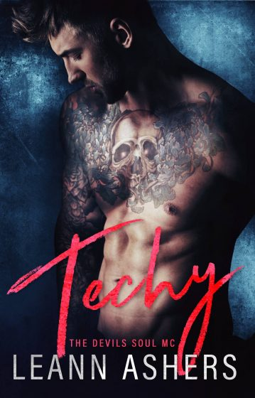 Cover Reveal: Techy (Devils Souls MC #2) by LeAnn Ashers