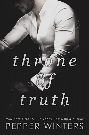 Cover Reveal: Throne of Truth (Truth and Lies Duet #2) by Pepper Winters