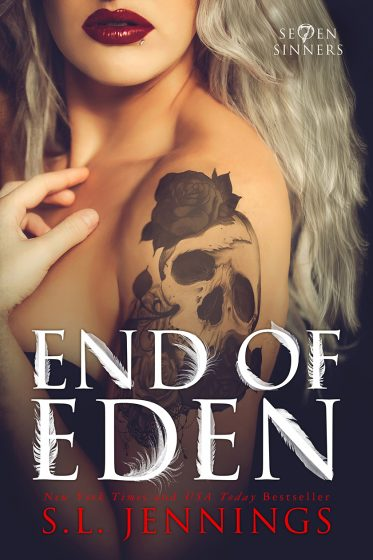 Release Day Blitz: End of Eden (Se7en Sinners #2) by SL Jennings