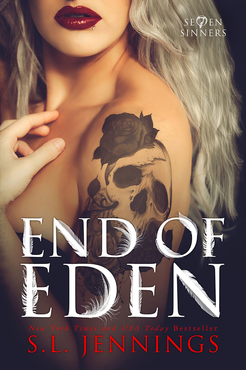 Release Day Blitz: End of Eden (Se7en Sinners #2) by SL Jennings