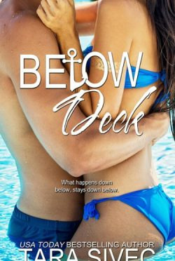 Cover Reveal: Below Deck by Tara Sivec