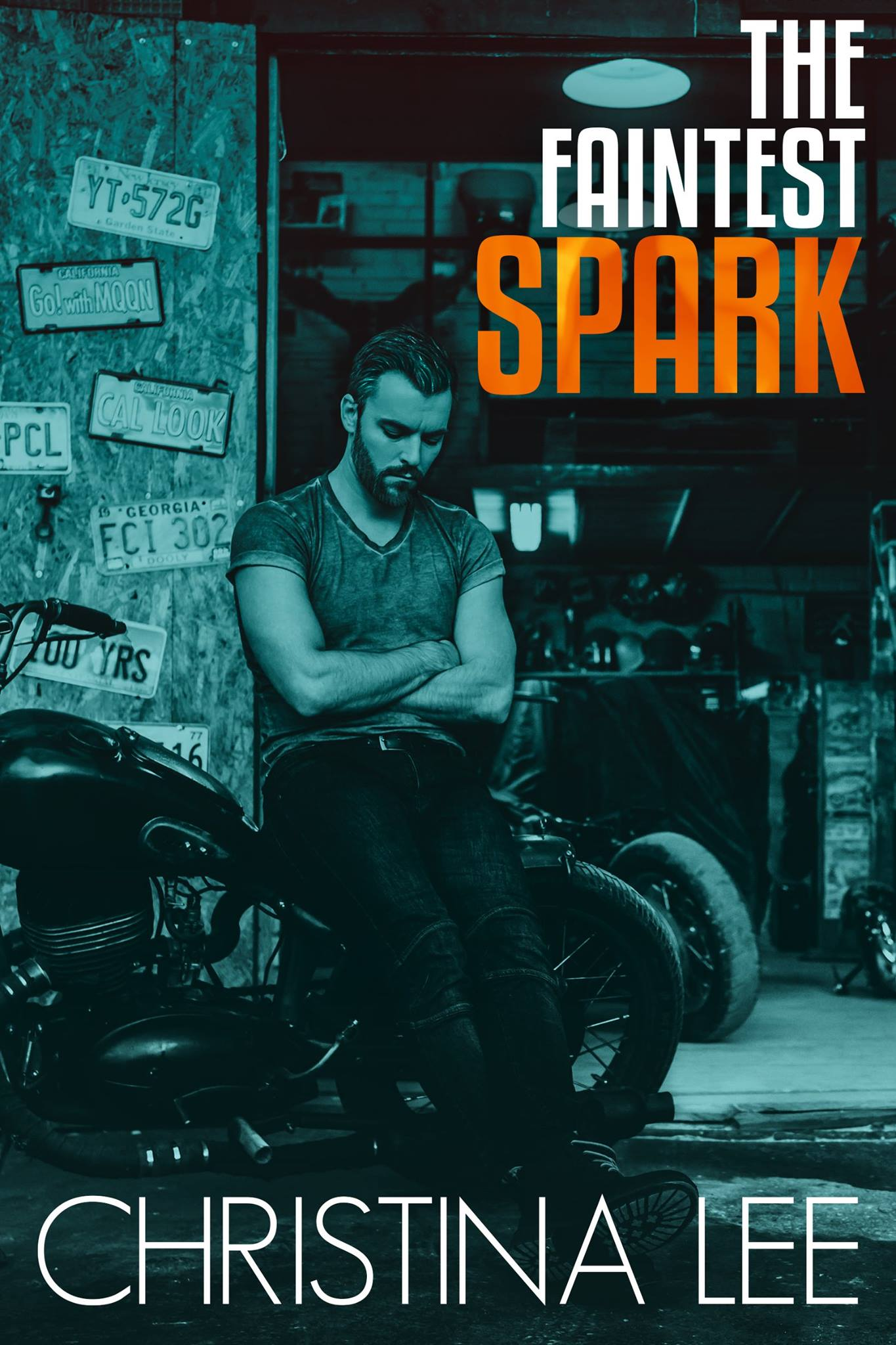 Cover Reveal: The Faintest Spark (Roadmap to Your Heart #1.5) by Christina Lee