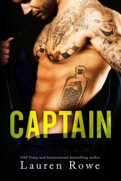 Cover Reveal: Captain by Lauren Rowe