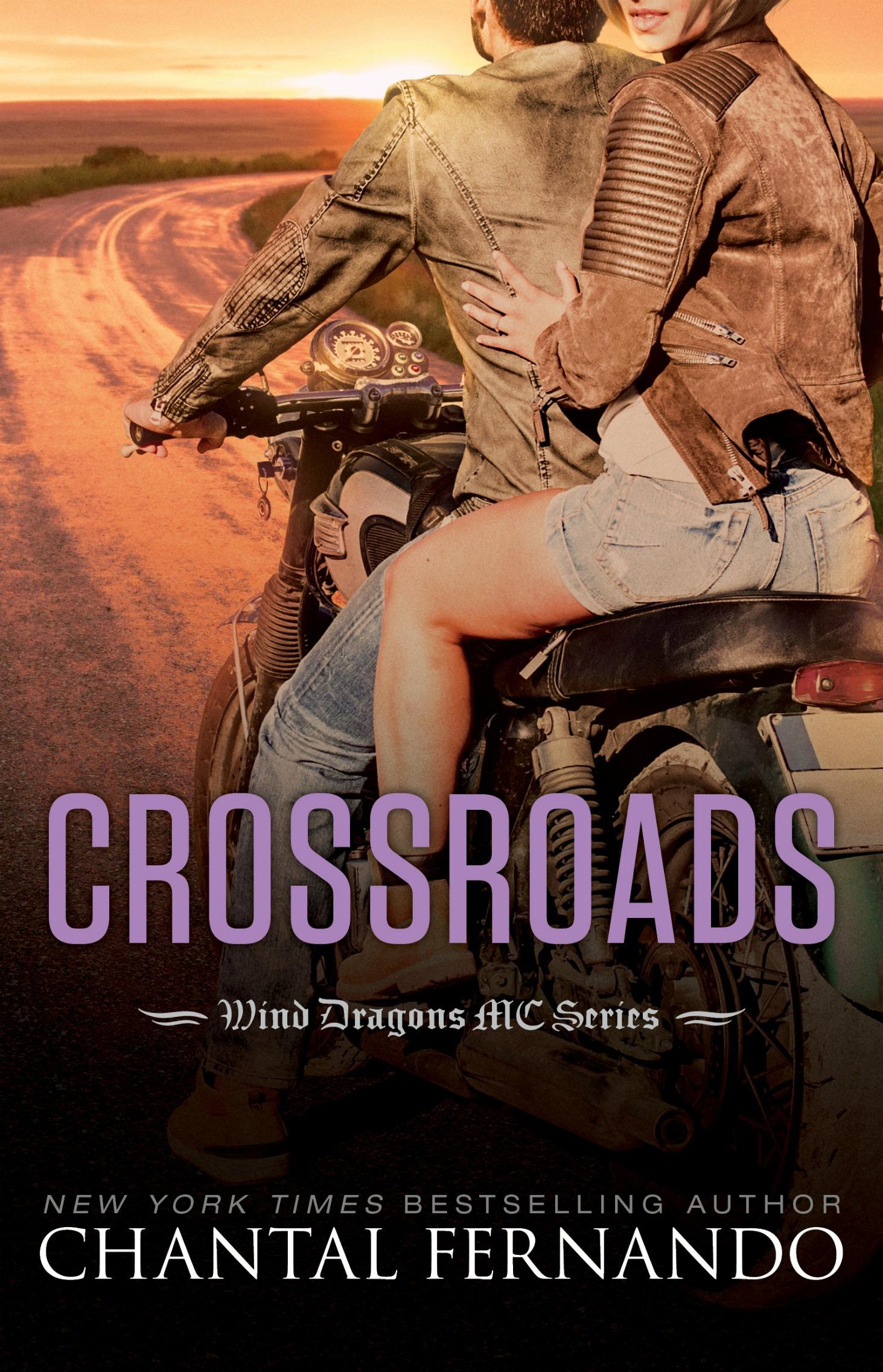 Release Day Blitz & Giveaway: Crossroads (Wind Dragons MC #6) by Chantal Fernando
