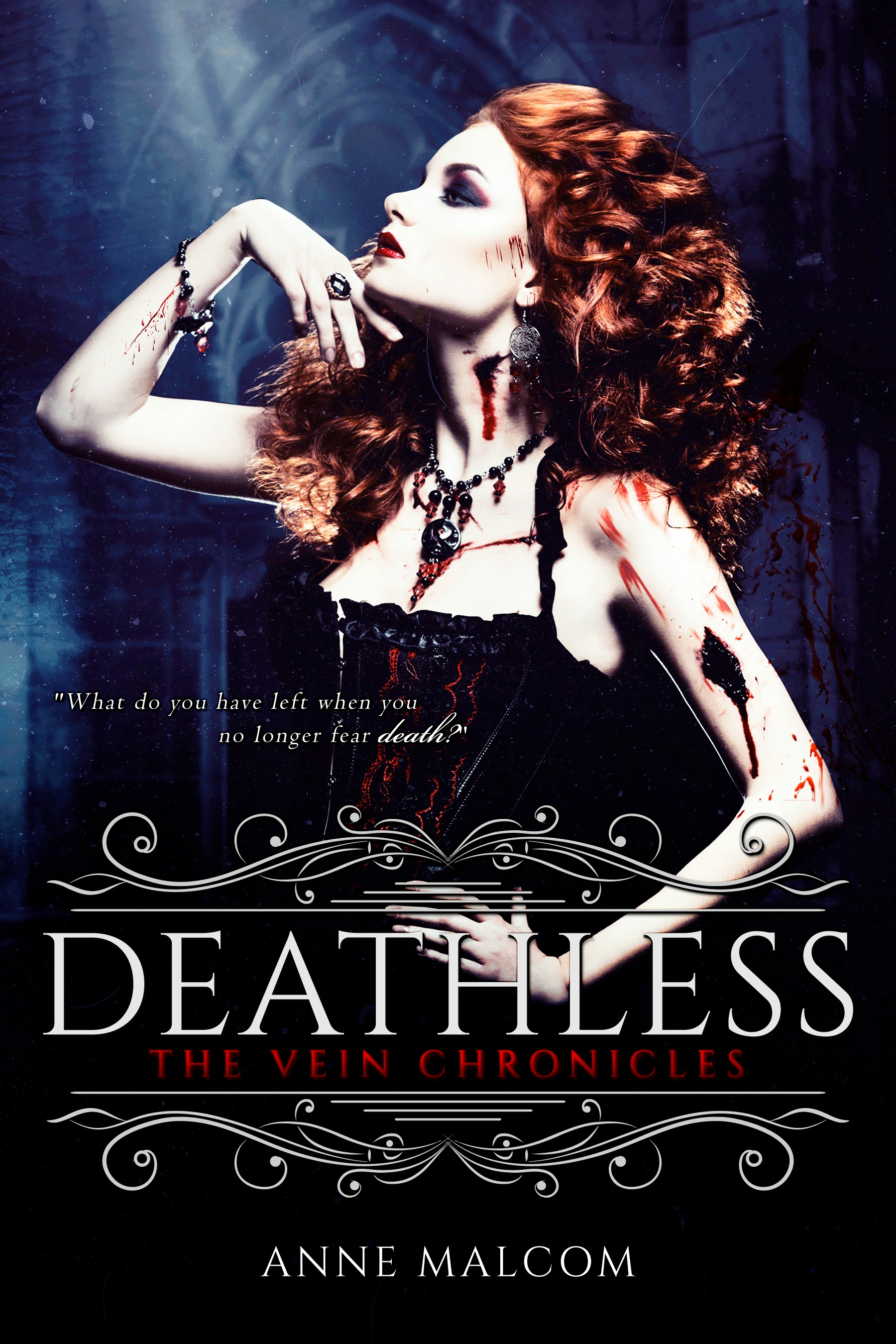 Cover Reveal & Giveaway: Deathless (The Vein Chronicles #2) by Anne Malcom