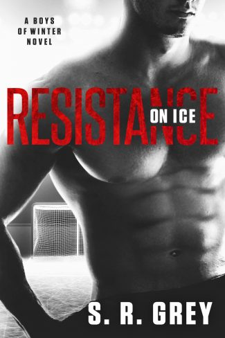 Cover Reveal & Giveaway: Resistance on Ice (Boys of Winter #2) by SR Grey