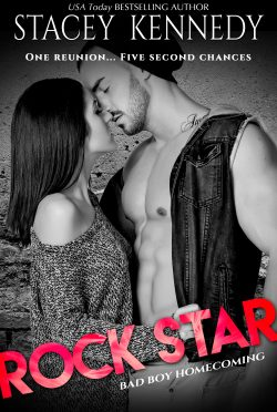 Cover Reveal & Giveaway: Rock Star (Bad Boy Homecoming #5) by Stacey Kennedy