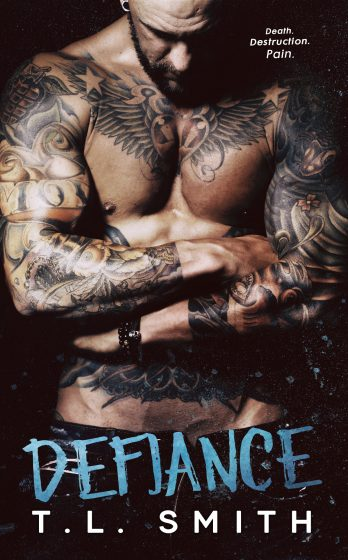 Cover Reveal: Defiance (Smirnov Bratva #3) by TL Smith