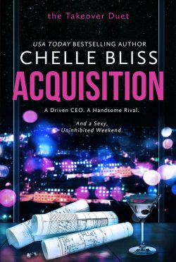 Cover Reveal: Acquisition (Takeover Duet #1) by Chelle Bliss