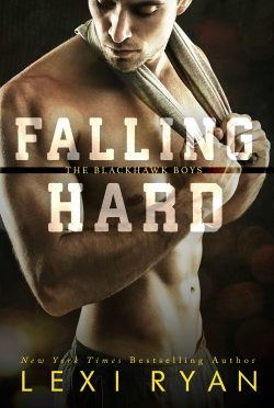 Cover Reveal & Giveaway: Falling Hard (The Blackhawk Boys #4) by Lexi Ryan