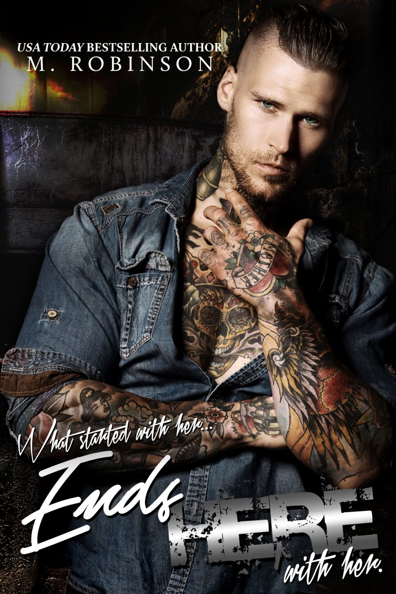 Release Day Blitz & Giveaway: Ends Here (Road to Nowhere #2) by M Robinson