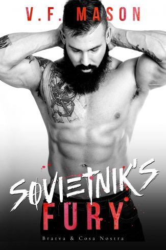Cover Reveal: Sovietnik's Fury by VF Mason