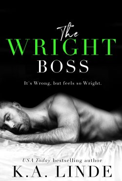 Cover Reveal: The Wright Boss by KA Linde