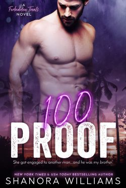 Cover Reveal: 100 Proof (Forbidden Treats #1) by Shanora Williams