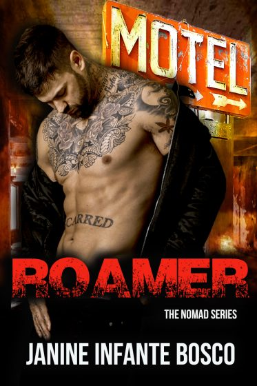Cover Reveal & Giveaway: Roamer (Nomad #3) by Janine Infante Bosco