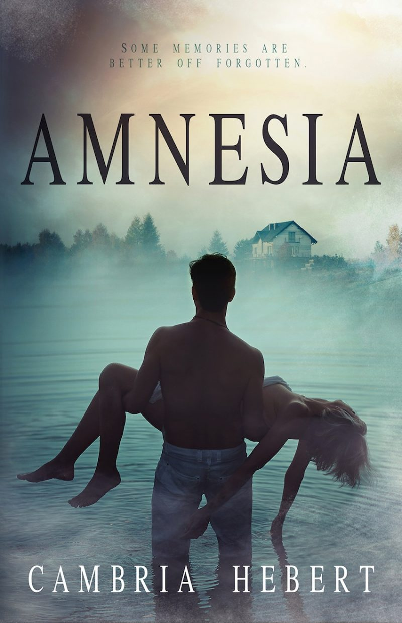 Cover Reveal: Amnesia by Cambria Hebert