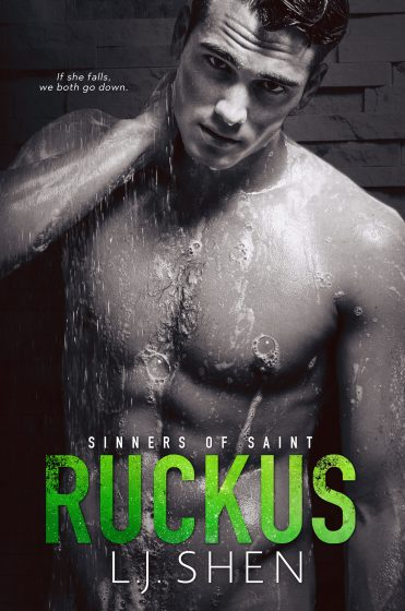 Cover Reveal: Ruckus (Sinners of Saint #2) by LJ Shen