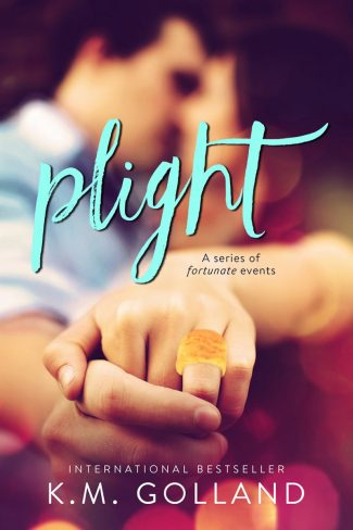 Cover Reveal & Giveaway: Plight by KM Golland