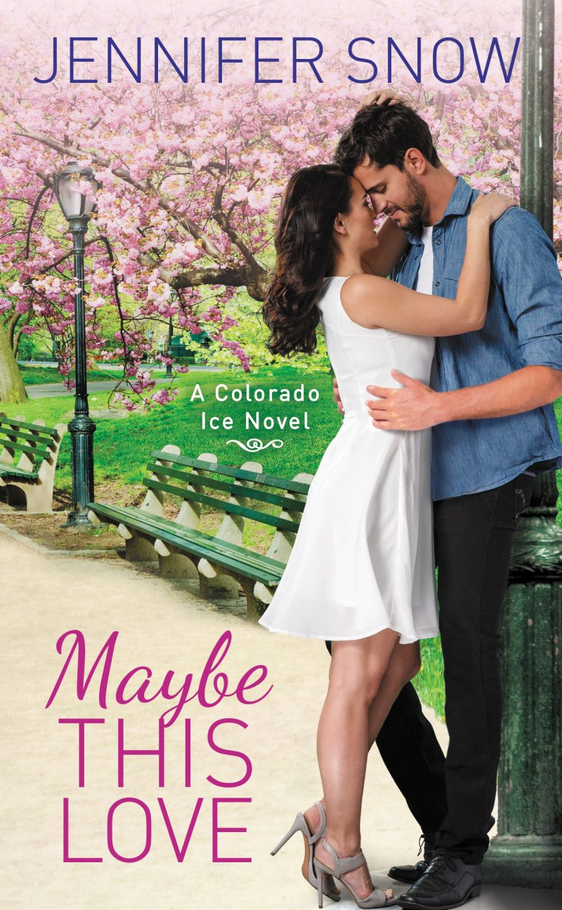 Release Day Blitz & Giveaway: Maybe This Love (Colorado Ice #2) by Jennifer Snow