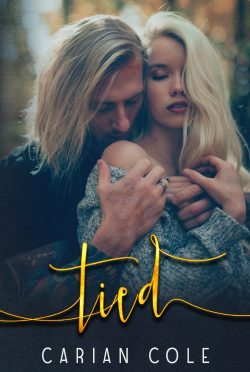 Cover Reveal: Tied (Devils Wolves #2) by Carian Cole