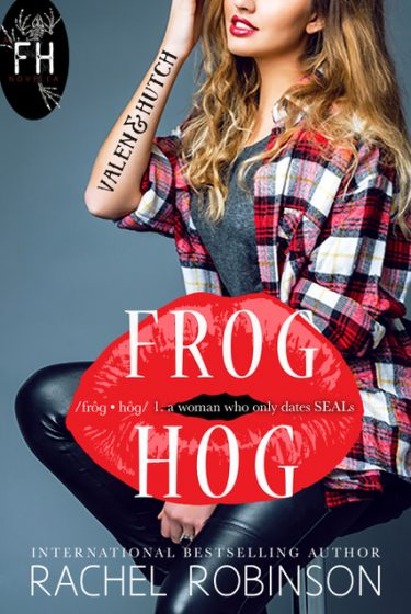 Cover Reveal & Giveaway: Frog Hog: Valen & Hutch (Frog Hog #1) by Rachel Robinson