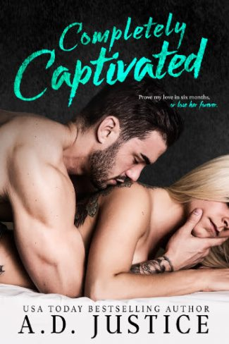 Cover Reveal & Giveaway: Completely Captivated by AD Justice