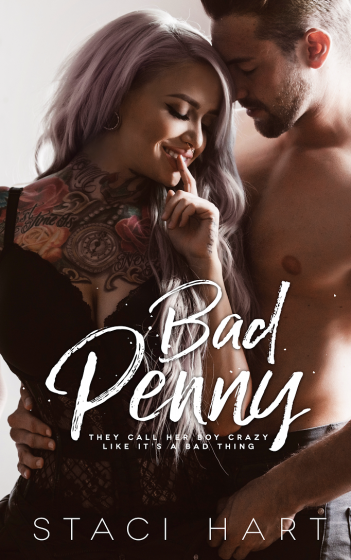 Cover Reveal: Bad Penny by Staci Hart