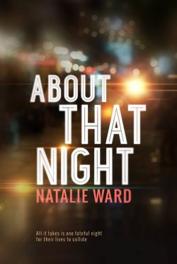 Cover Reveal: About That Night by Natalie Ward