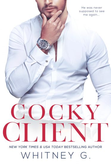 Cover Reveal: Cocky Client (Steamy Coffee Collection #3) by Whitney G