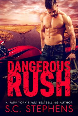 Cover Reveal: Dangerous Rush (Furious Rush #2) by SC Stephens