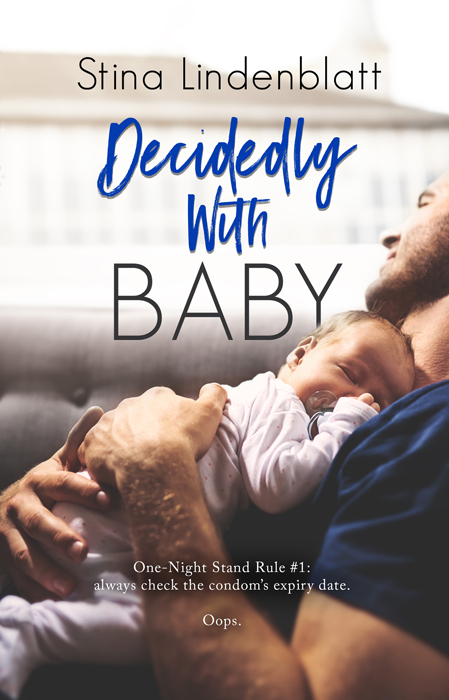 Cover Reveal: Decidedly With Baby (By The Bay #2) by Stina Lindenblatt