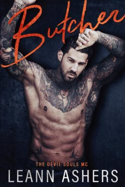 Cover Reveal: Butcher (Devils Souls MC #3) by LeAnn Ashers