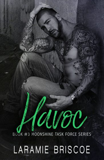 Cover Reveal & Giveaway: Havoc (Moonshine Task Force #3) by Laramie Briscoe