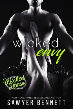 Cover Reveal: Wicked Envy (The Wicked Horse Vegas #3) by Sawyer Bennett