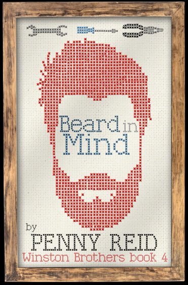 Cover Reveal: Beard in Mind (Winston Brothers #4) by Penny Reid