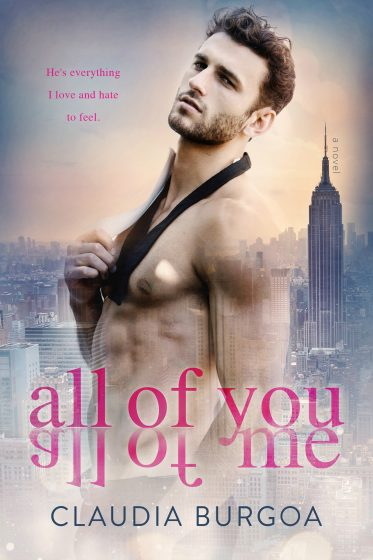 Cover Reveal: All of You All of Me by Claudia Burgoa