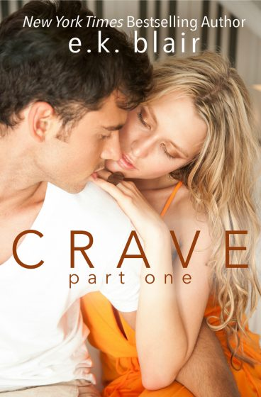 Cover Reveal: Crave (Crave Duet #1) by EK Blair