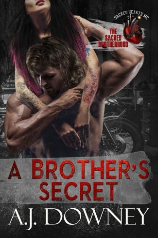 Cover Reveal: A Brother's Secret (The Sacred Brotherhood #5) by AJ Downey