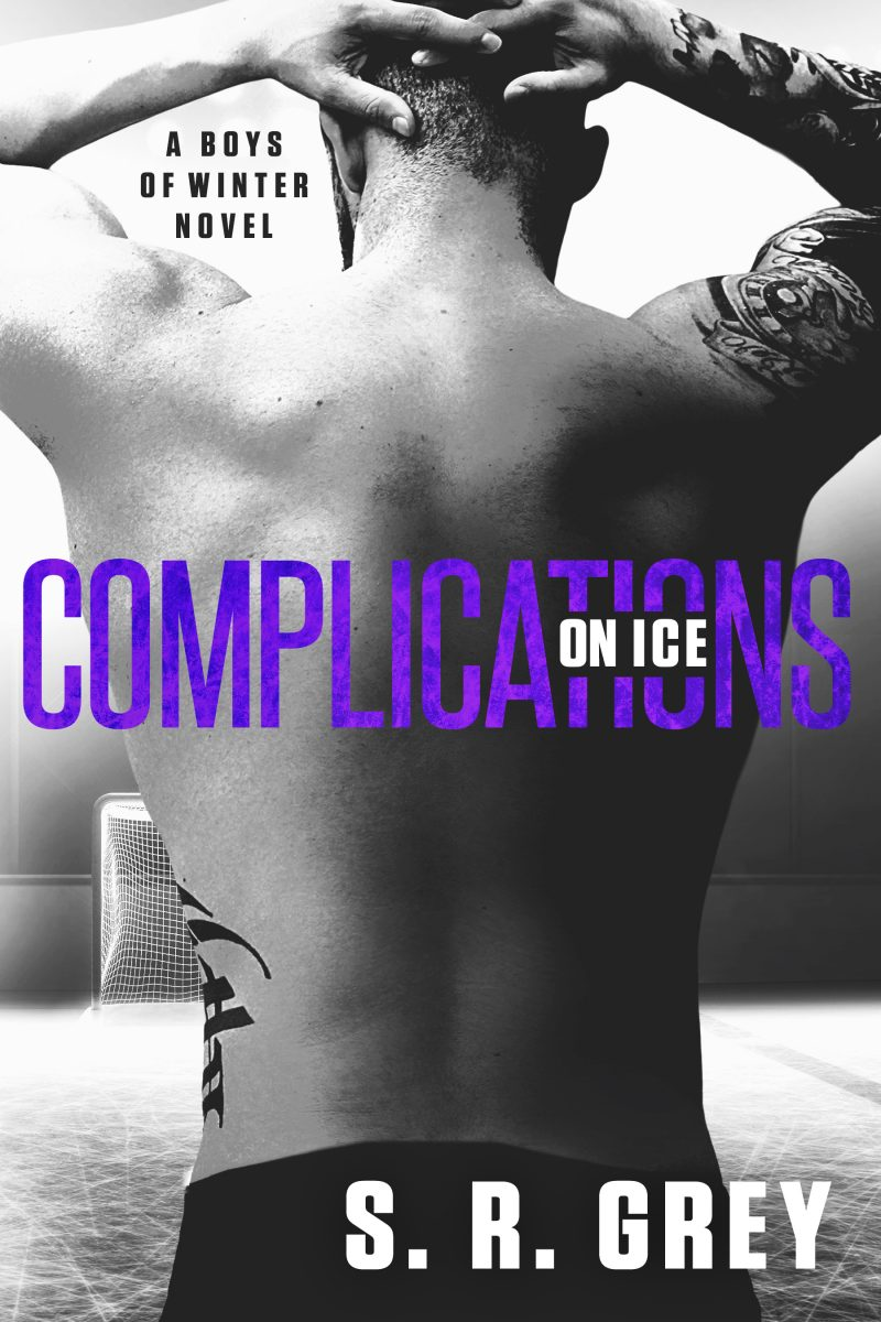 Cover Reveal & Giveaway: Complications on Ice (Boys of Winter #3) by SR Grey