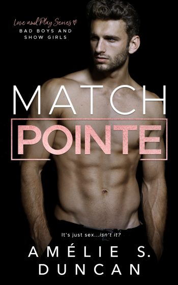 Cover Reveal: Match Pointe (Love and Play #3) by Amélie S Duncan