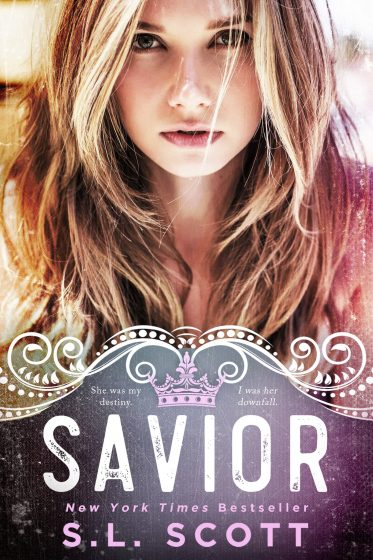Cover Reveal & Giveaway: Savior (The Kingwood Duet #2) by SL Scott