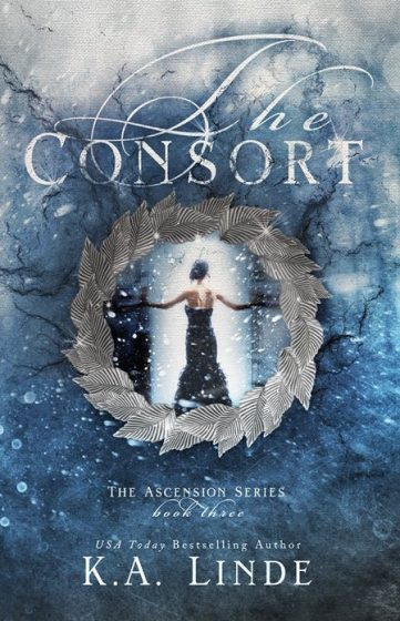Cover Reveal: The Consort (Ascension #3) by KA Linde