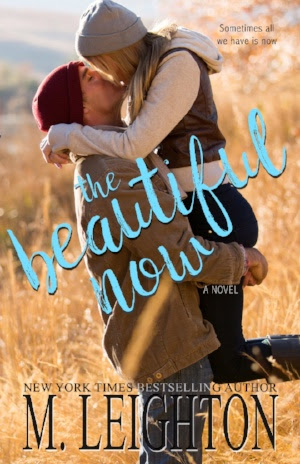 Cover Reveal: The Beautiful Now by M Leighton