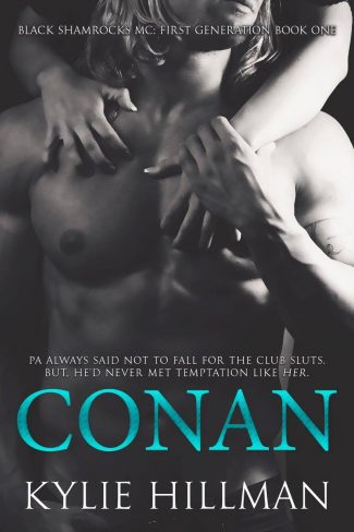 Release Day Blitz & Giveaway: Conan (Black Shamrocks MC: First Generation #1) by Kylie Hillman