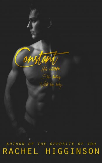 Cover Reveal: Constant (Confidence Men #1) by Rachel Higginson